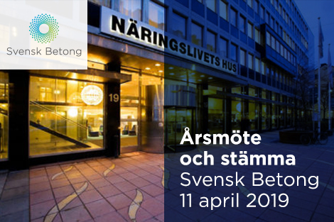 SvenskBetong arsmote 11 april 2019 470x313