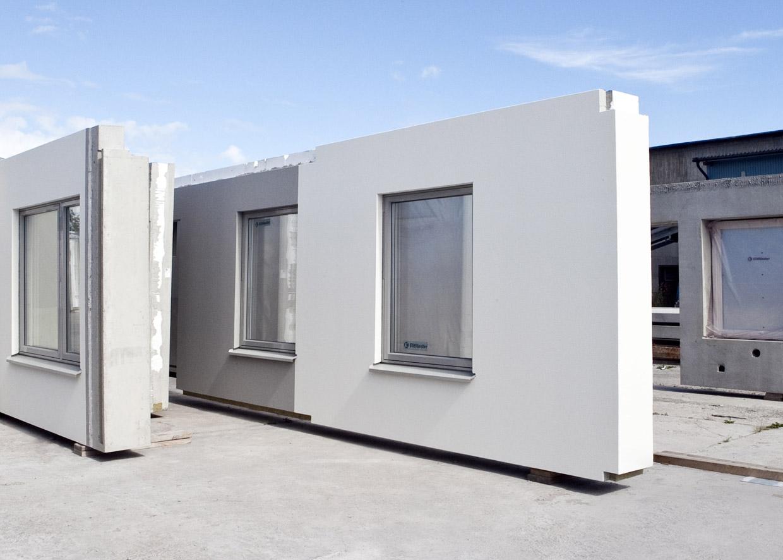 bygga hus prefab betong